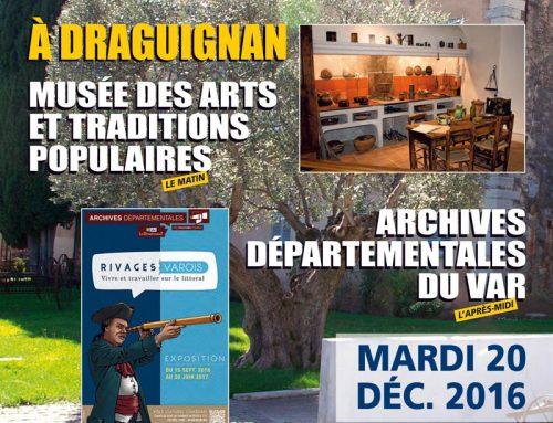 Sortie culturelle intercommunale à Draguignan