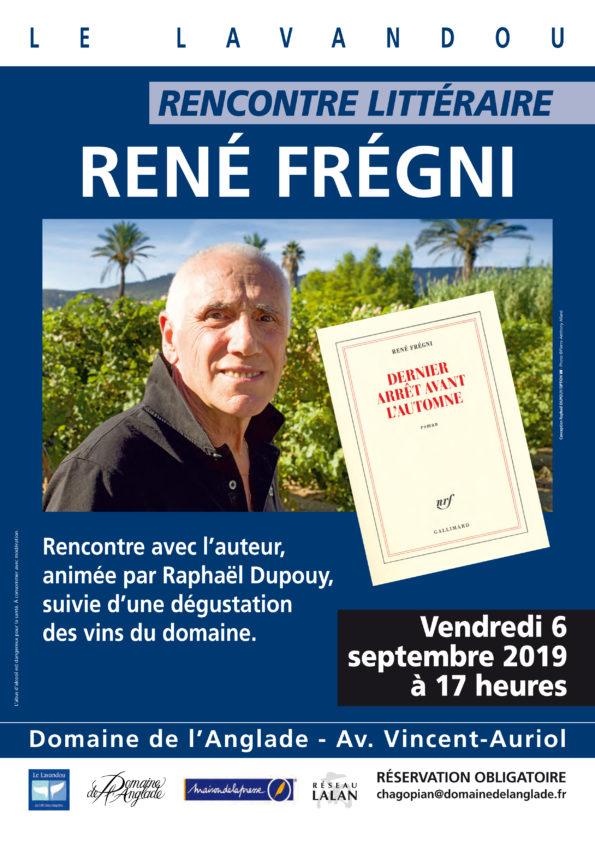 René Frégni au Domaine de l'Anglade