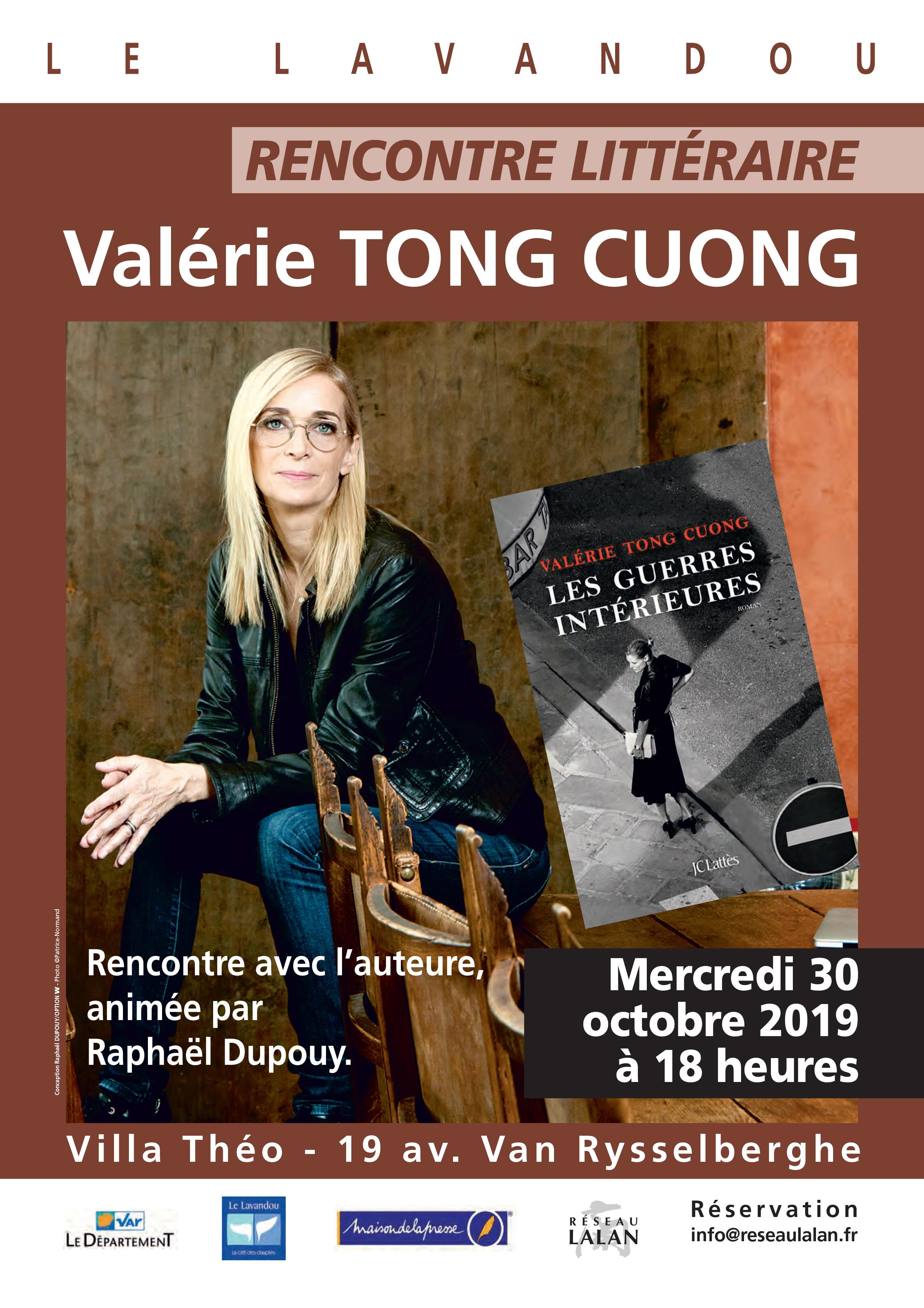 Valérie Tong Cuong à la Villa Théo